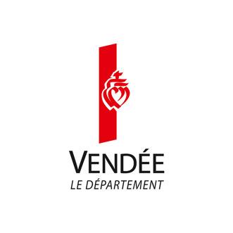 nouveau logo du Conseil Departemental de la Vendee version horizontal