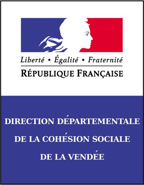Logo de la DDCS de Vendee