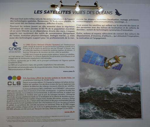 le vendee globe suivit par des satellites