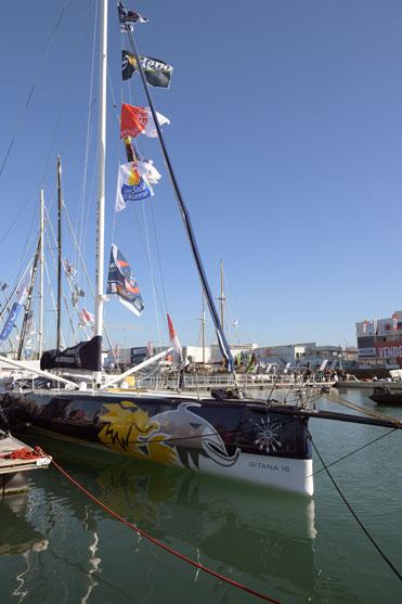 un des bateaux du vendee globe 2016