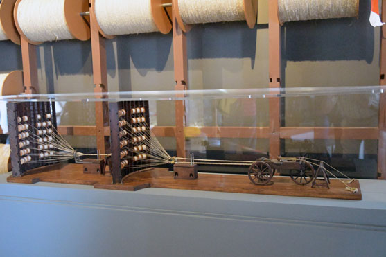 une maquette de la fabrication d un cordage